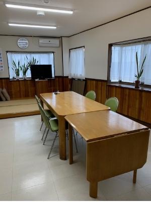 食堂スペースの写真